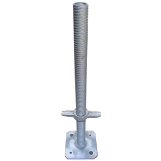 Welded Scaffolding Steel Hollow Base Jack